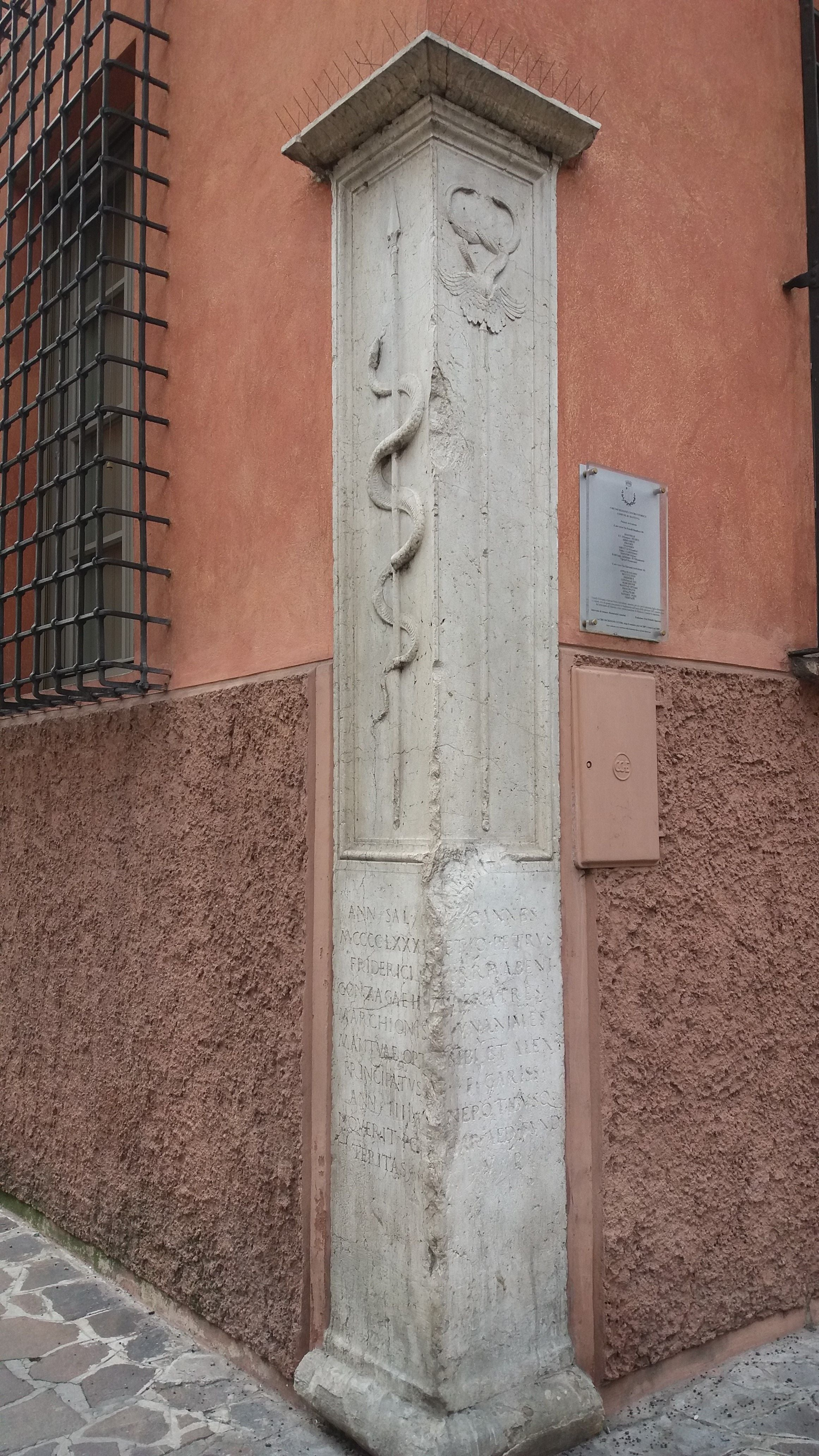 Wall in Palazzo Arrivabene