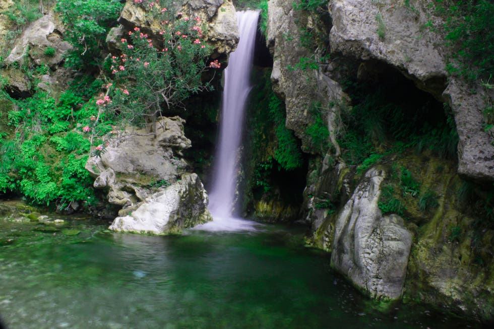 Waterfall in Coín