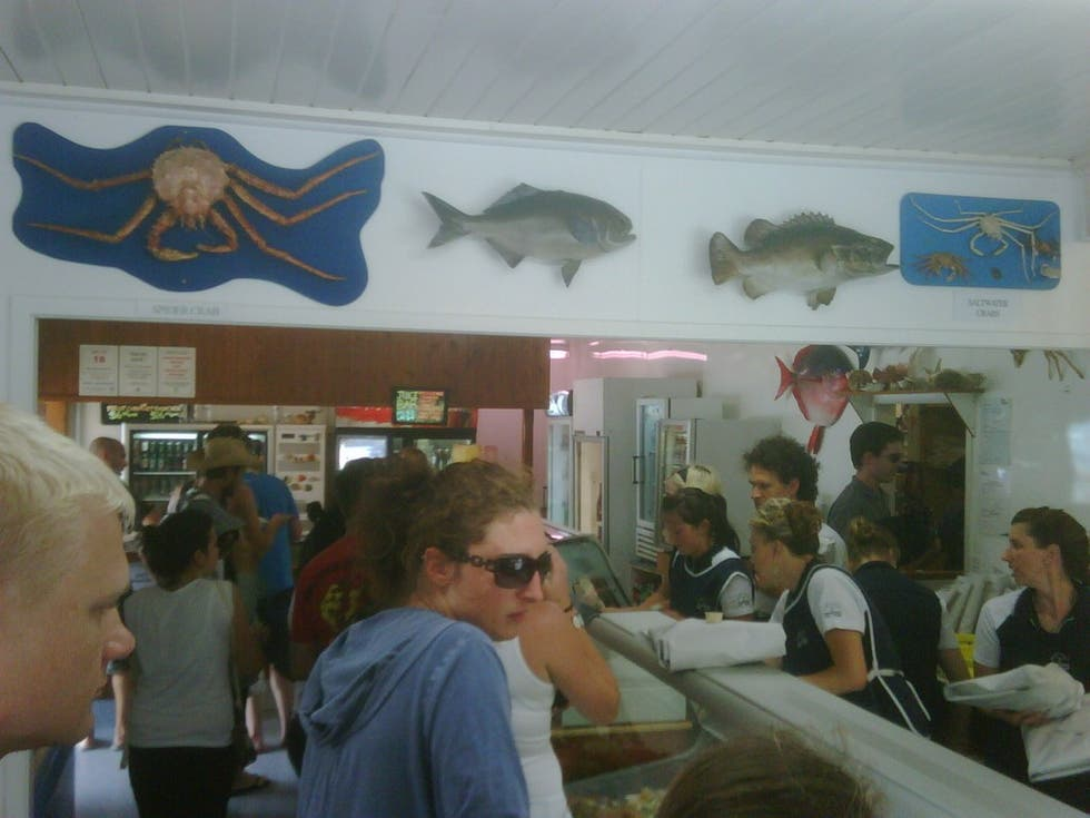 Turismo en Mangonui Fish Shop