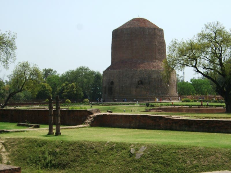 Edificio en Sarnath