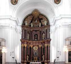 Altar en Hospital de Tavera o de San Juan Bautista