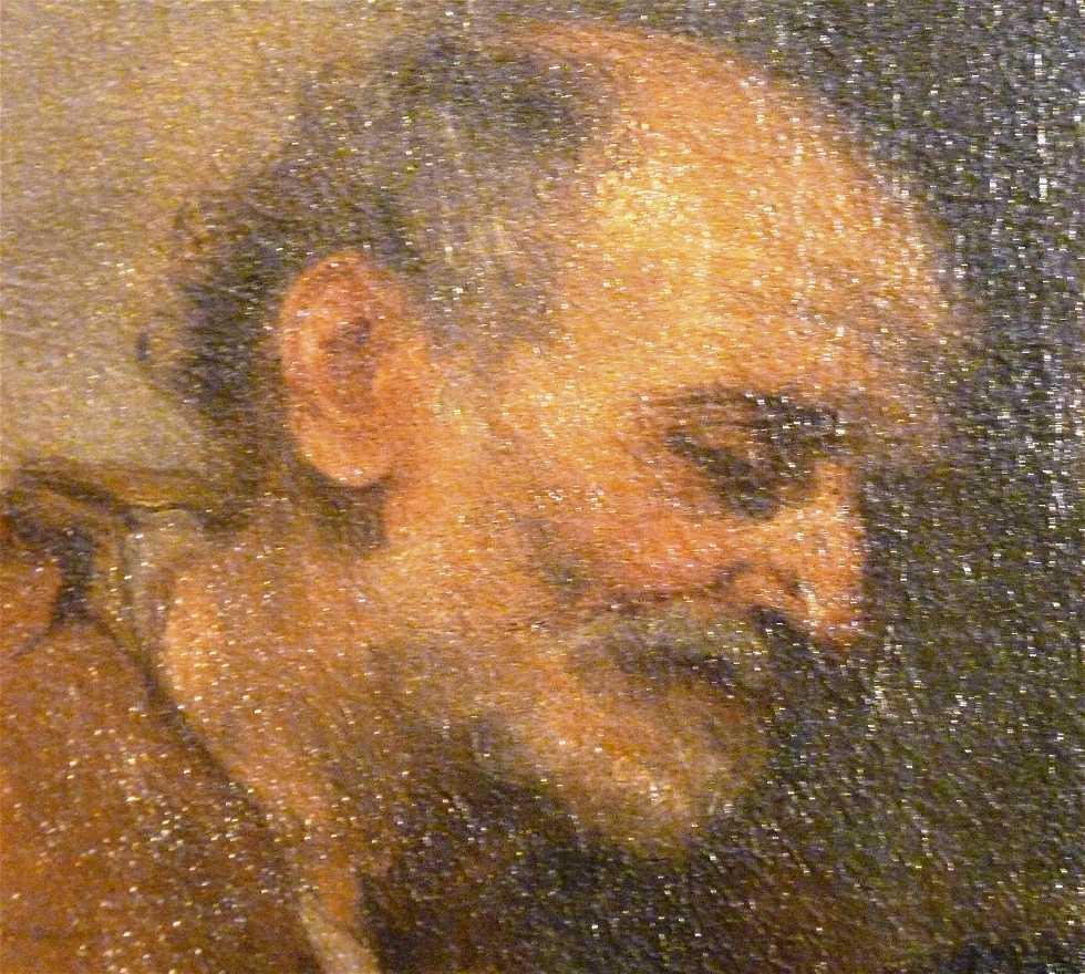 Pintura en Museo de Bellas Artes de Sevilla