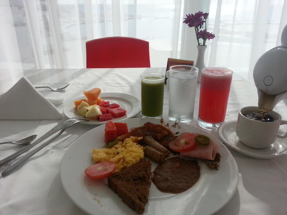 Desayuno en Bel Air Collection Resort and Spa Cancun