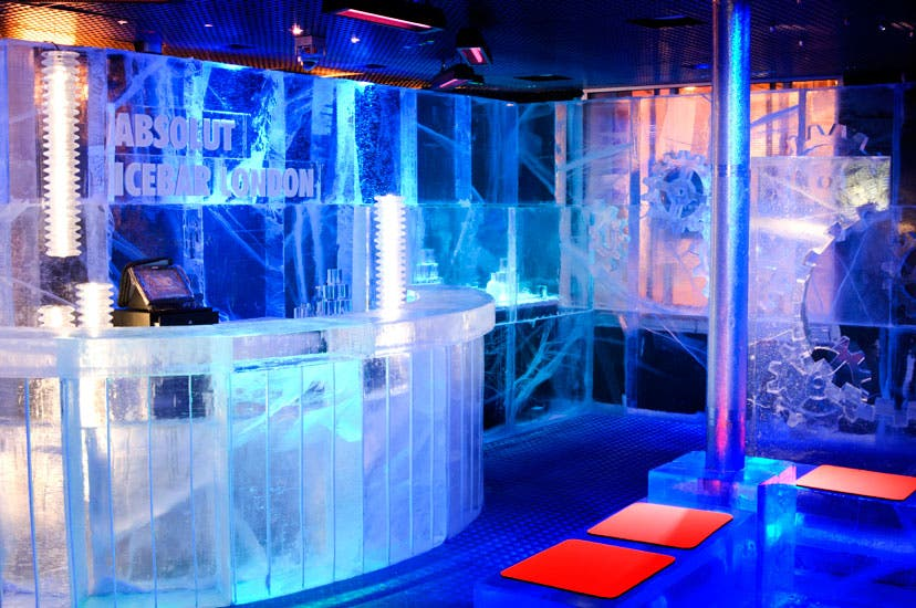 Discoteca en Absolut Icebar London