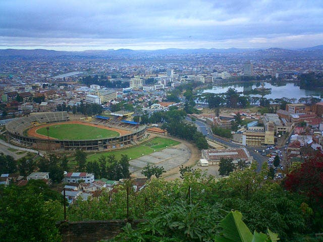 Aerial Photography in Antananarivo