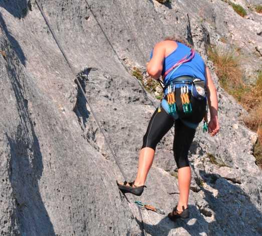 Deportes en Zona de escalada en Oro