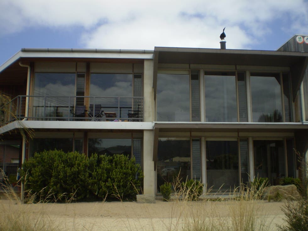 Fachada en Apollo Bay