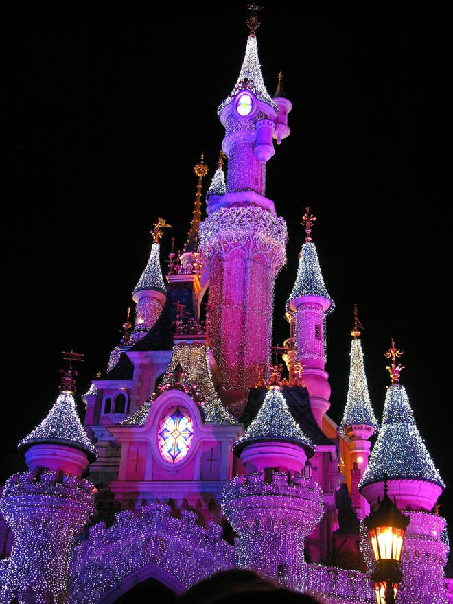 Color rosa en Disneyland París