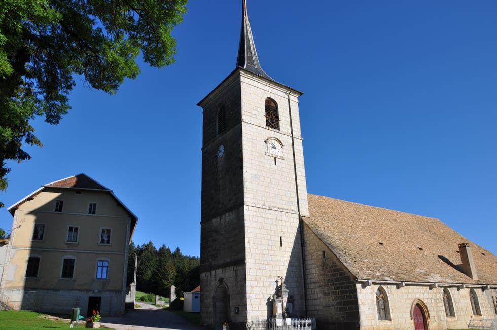 Church in Le Bizot