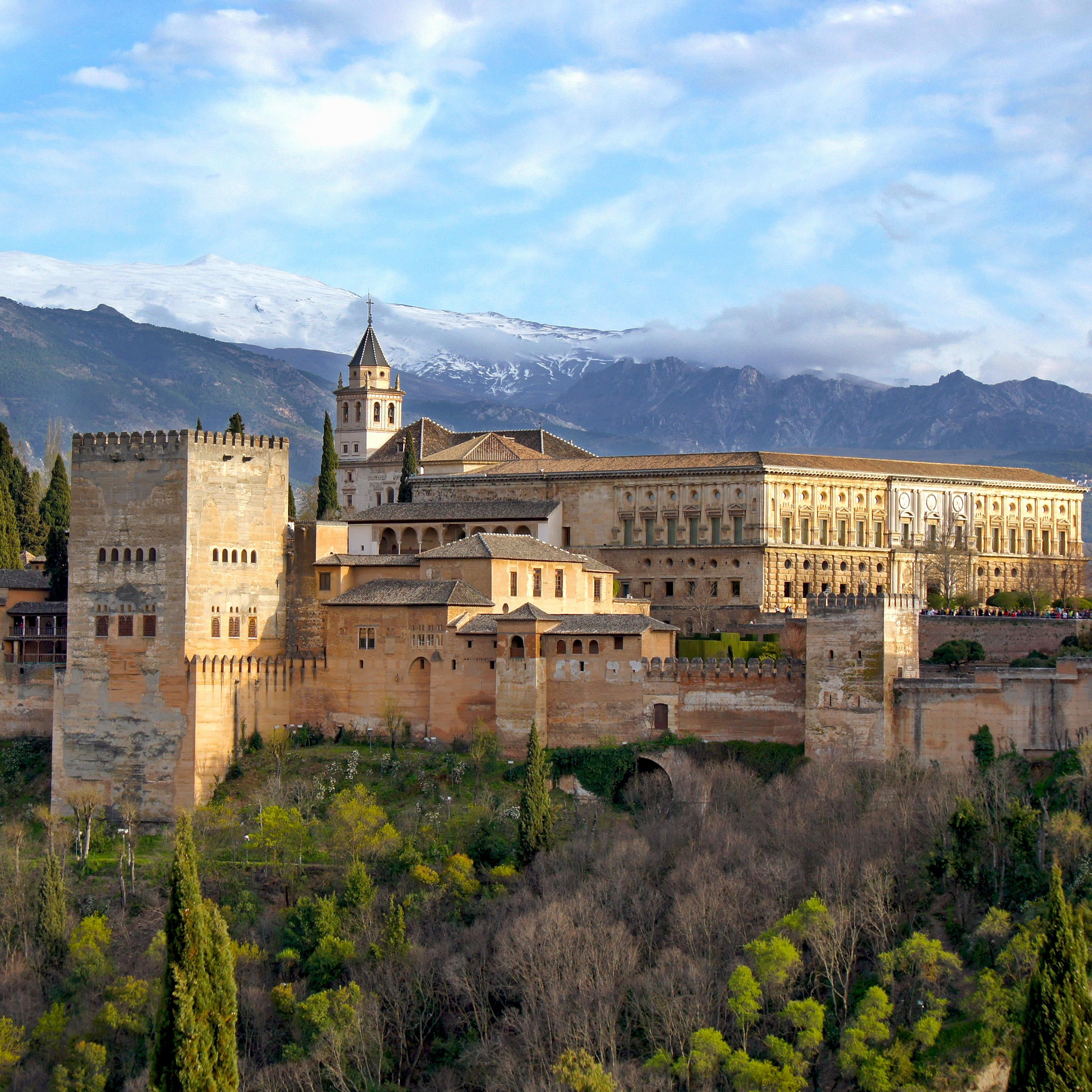 Town in The Alhambra