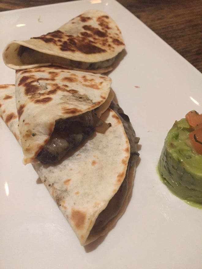 Quesadilla en Restaurante Tepic