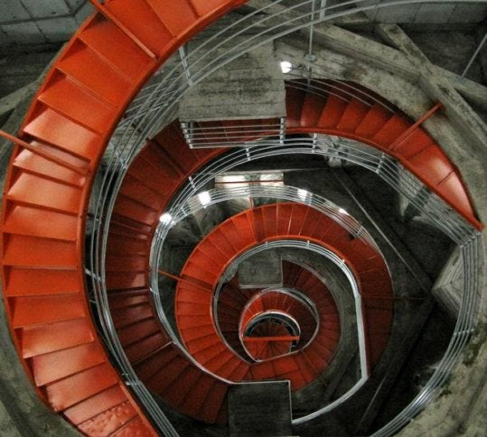 Espiral en El Corredor Polaco