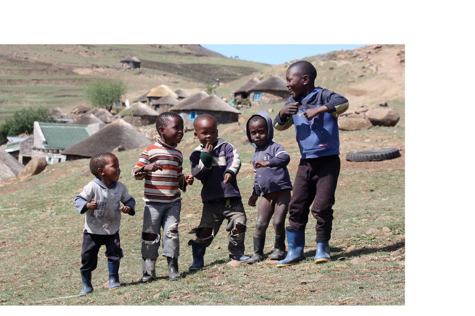 People in Lesotho