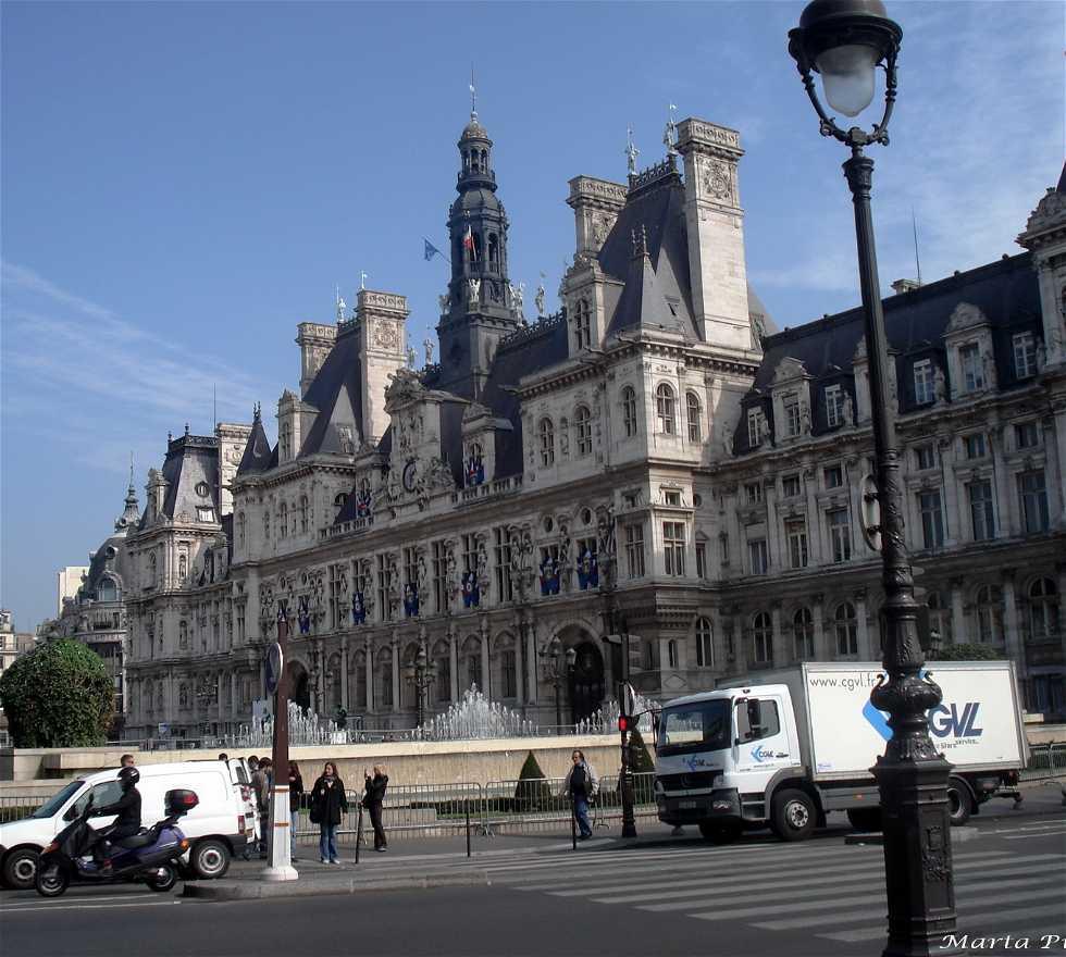 Emblemático en Ayuntamiento de París - Hotel de Ville