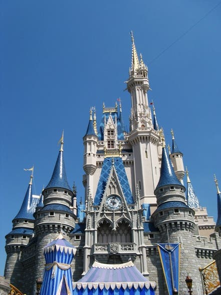 Edificio en Walt Disney World