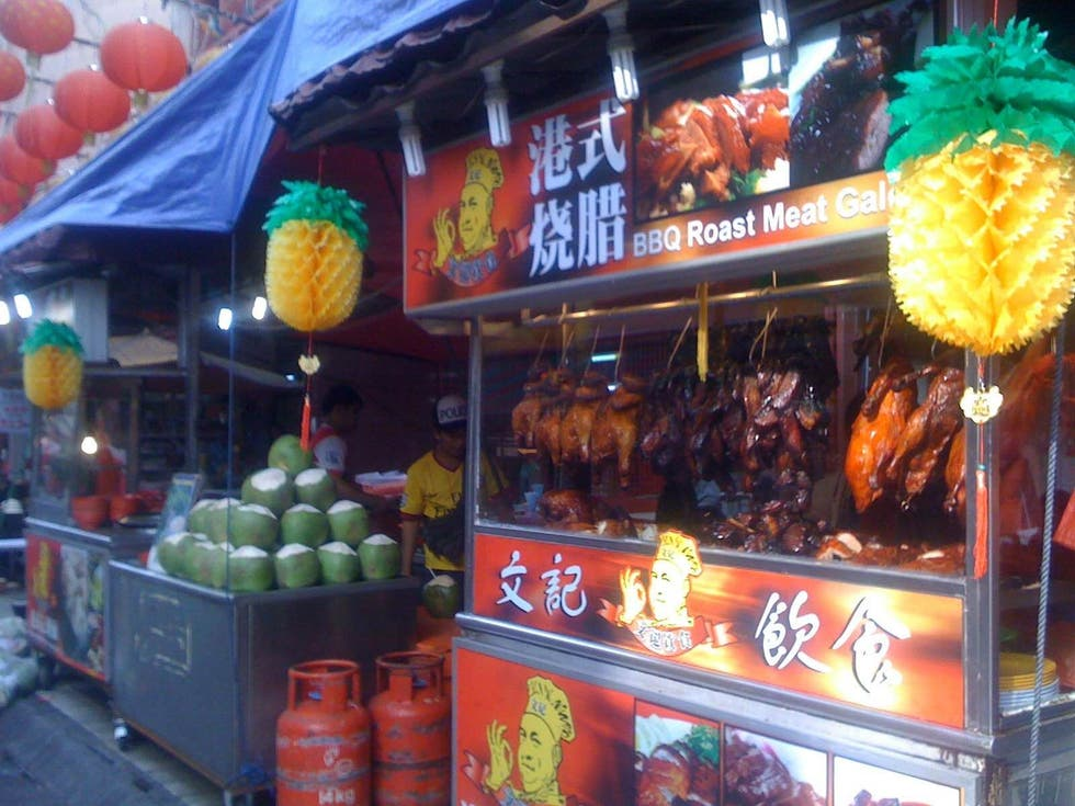 Mercado en Chinatown Pavillion
