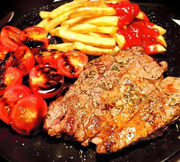 Carne en Food Truck Itália