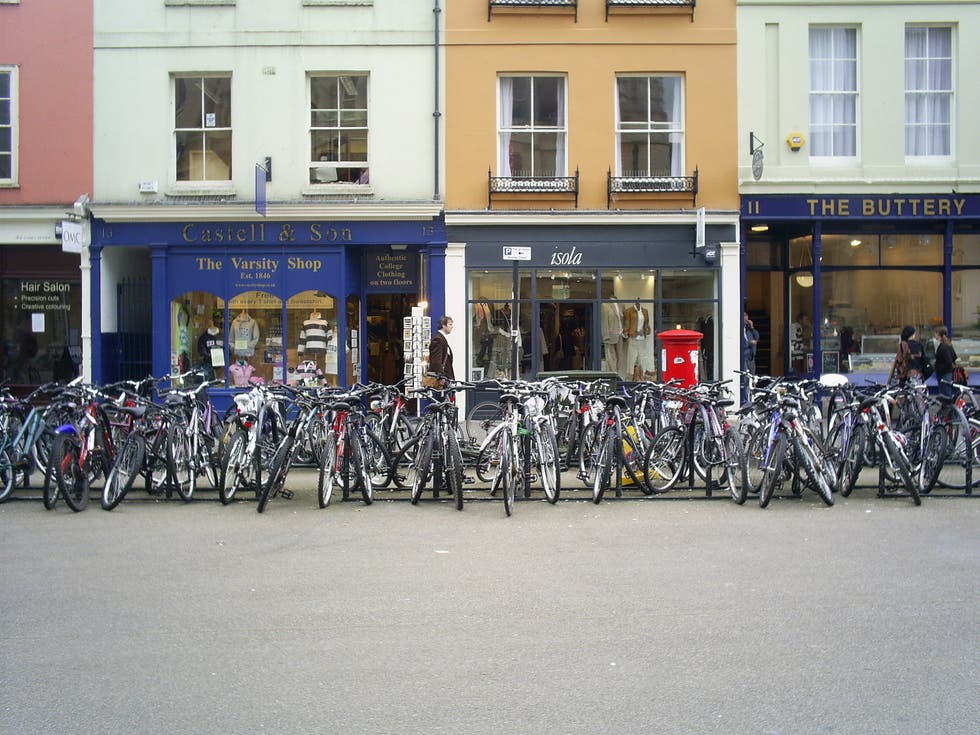 Bicycle in Oxford