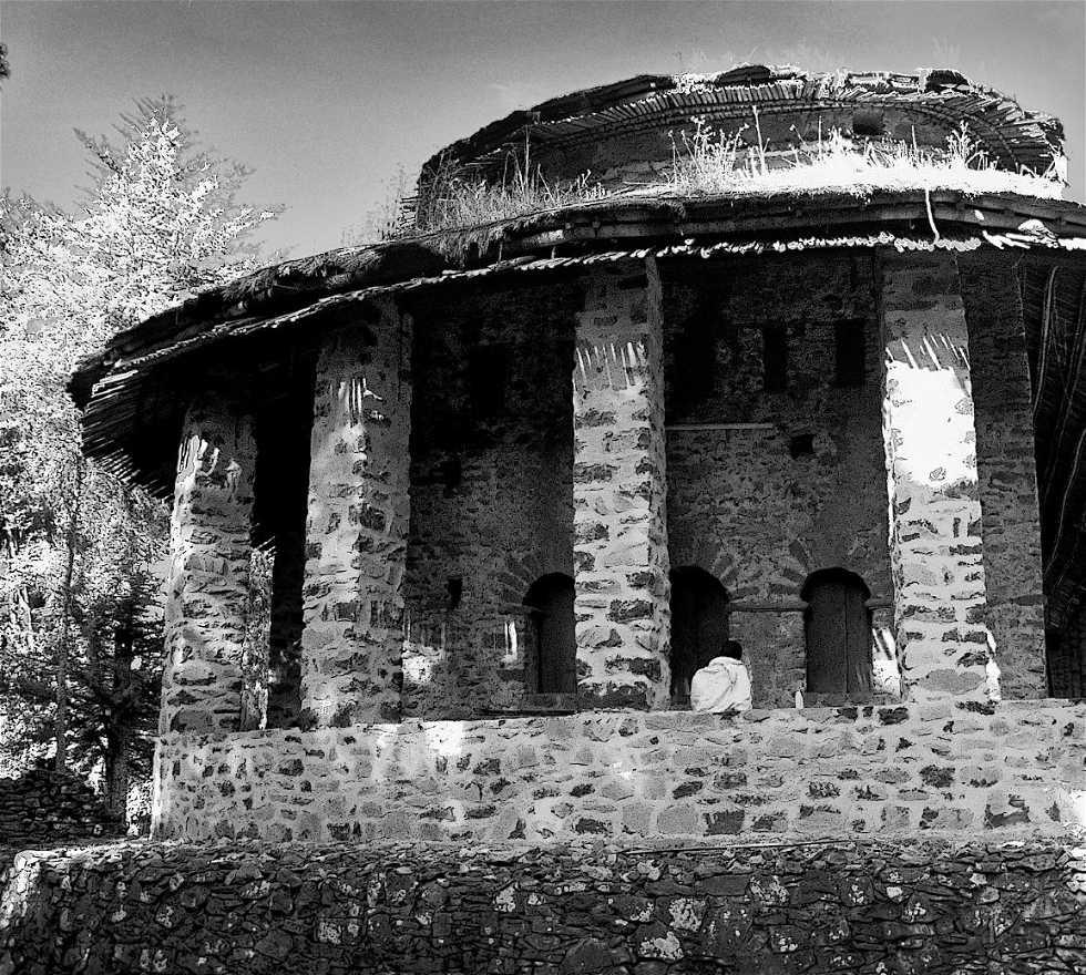 Historia antigua en Debra Berhan Selassie