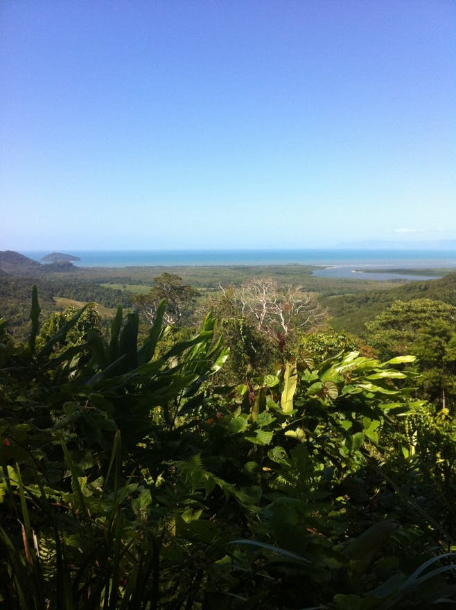 Paisaje en Cape Tribulation
