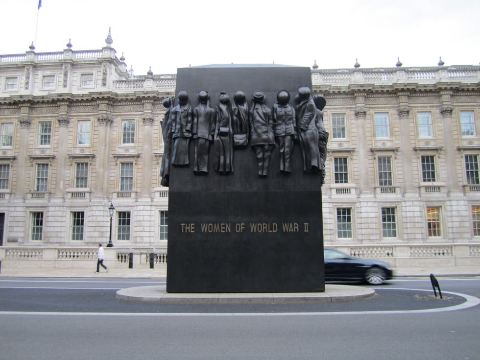 Arquitectura en The Women of World War Two Memorial