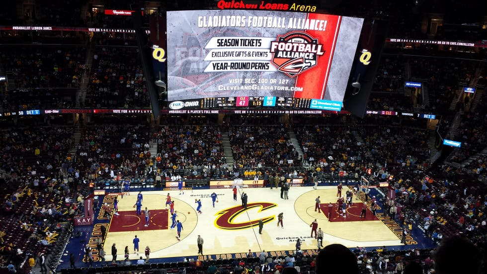Stadio a Cleveland