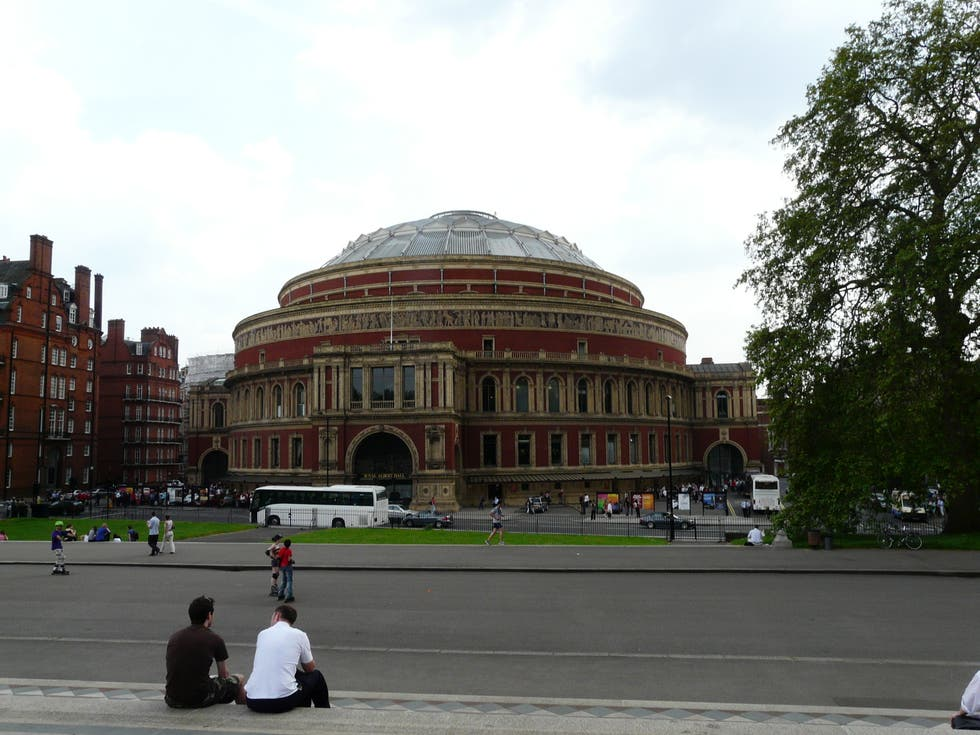 Palacio en Royal Albert Hall