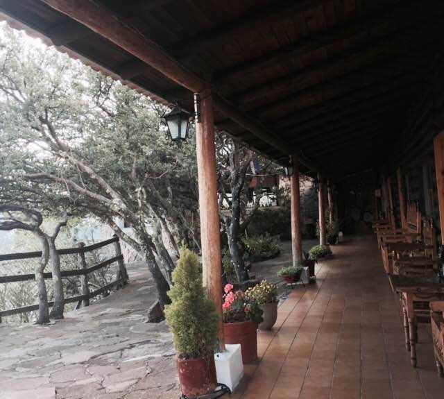 Paseo en Hotel Divisadero Barrancas