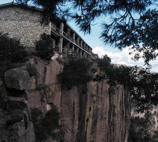 Ruinas en Hotel Divisadero Barrancas