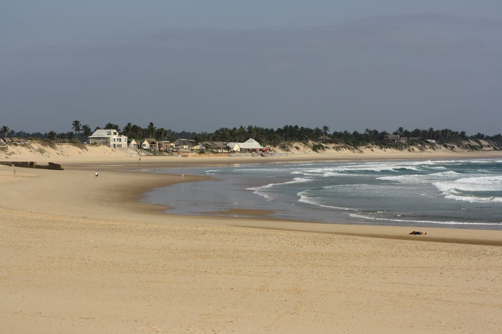 Shore in Inhambane