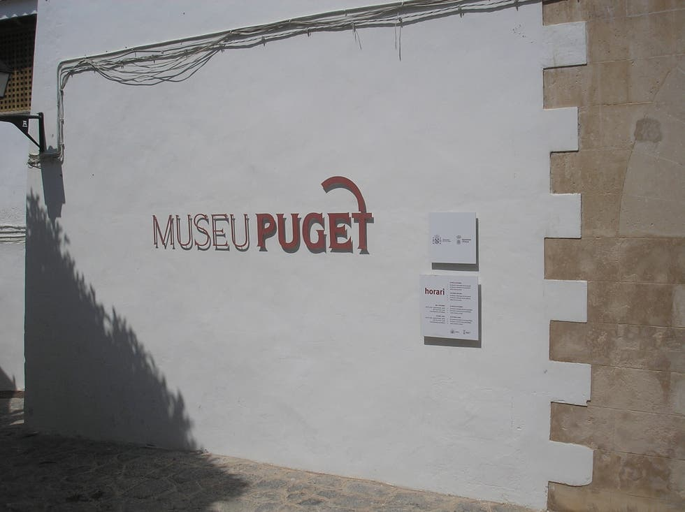 Pared en Museo Puget