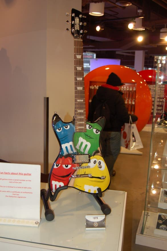 Compras en M&M'S World