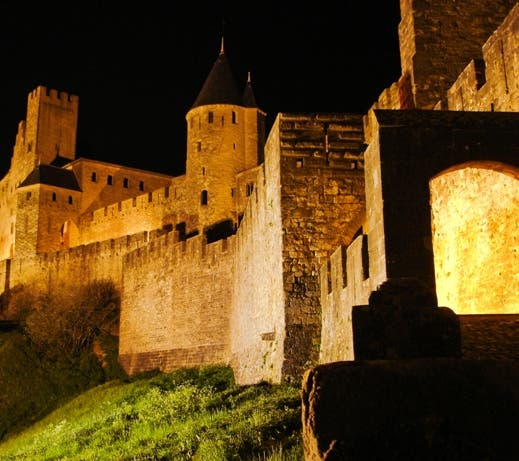 Night in Carcassonne