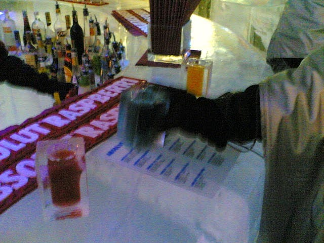 Turismo en Absolut Ice Bar