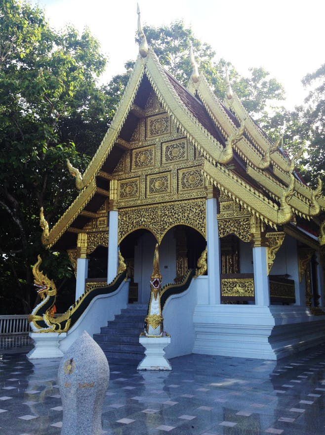 Templo en Wat Phra That Chom Kitti