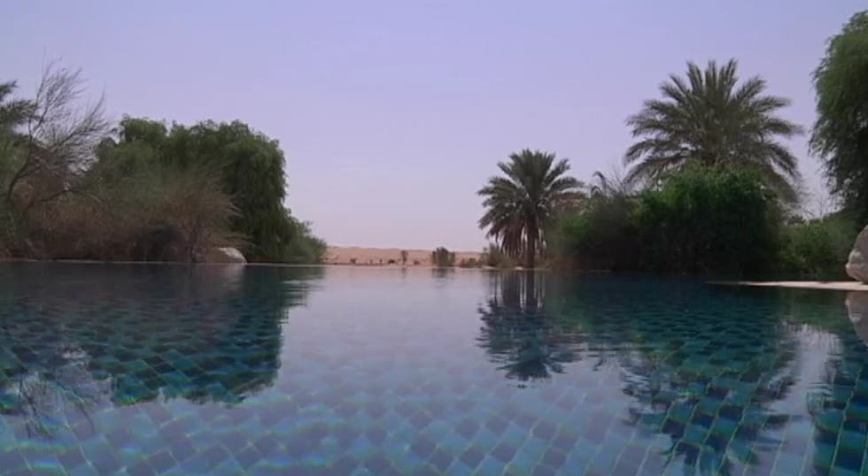 Canal en Al Maha Desert Resort And Spa