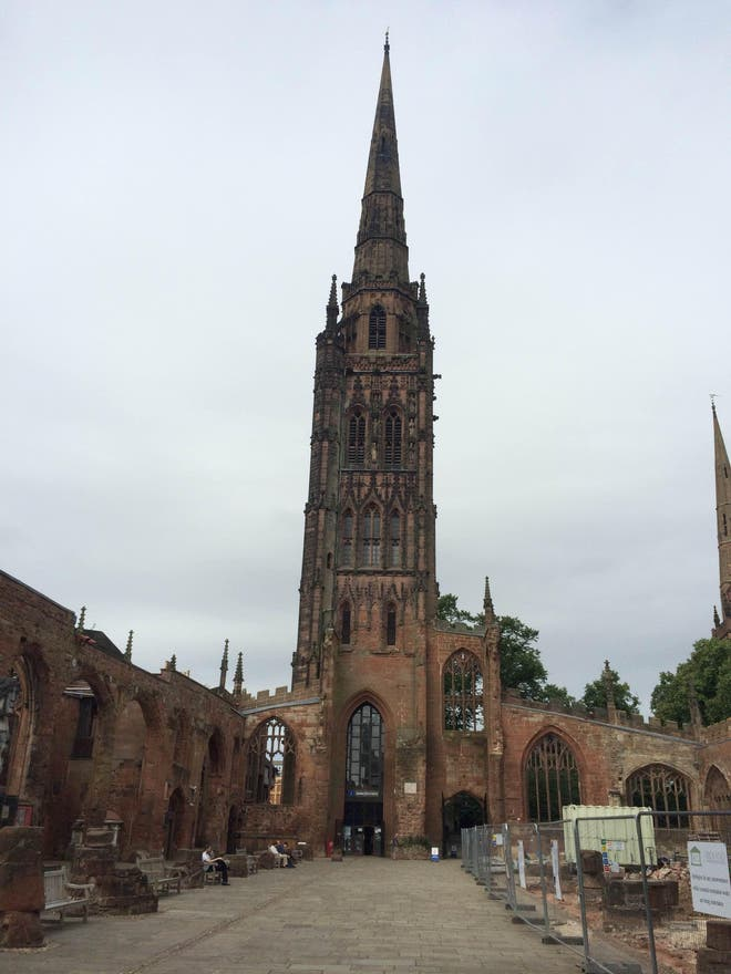 Spire in Coventry