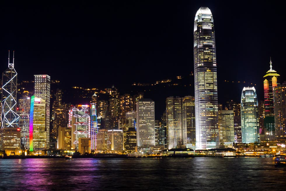 City in Hong Kong