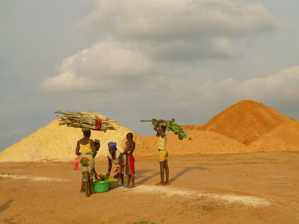 Sand in Angola
