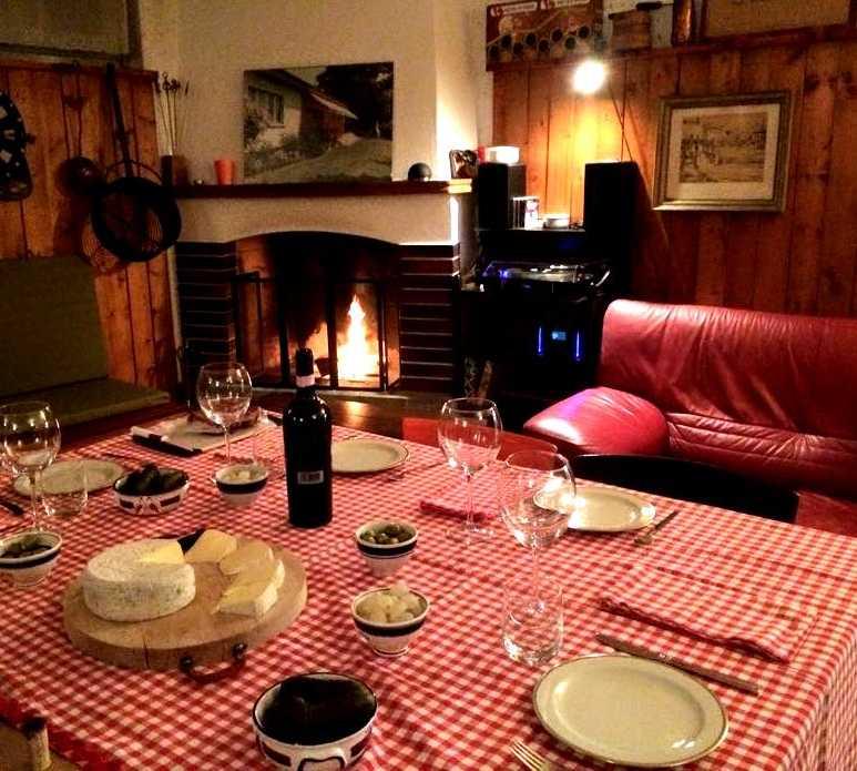 Sala en La fattoria di Tulio Crivelli - em Torricella