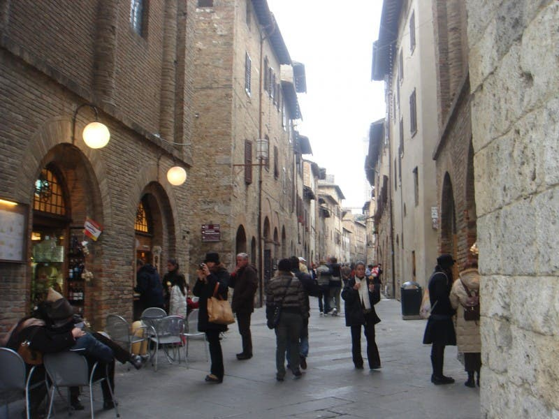 City in San Gimignano