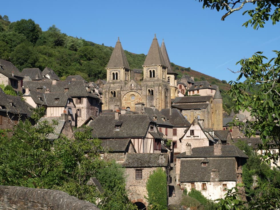 Village in Conques