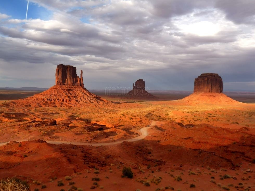 Cloud in Monument Valley