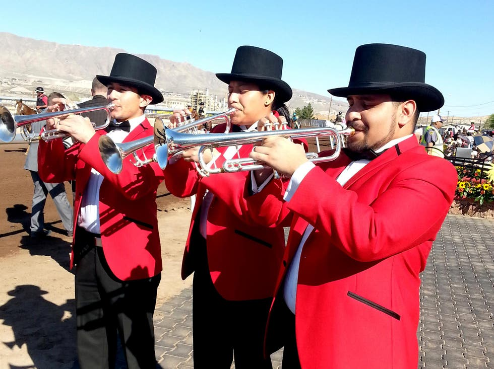 Marching in Sunland Park
