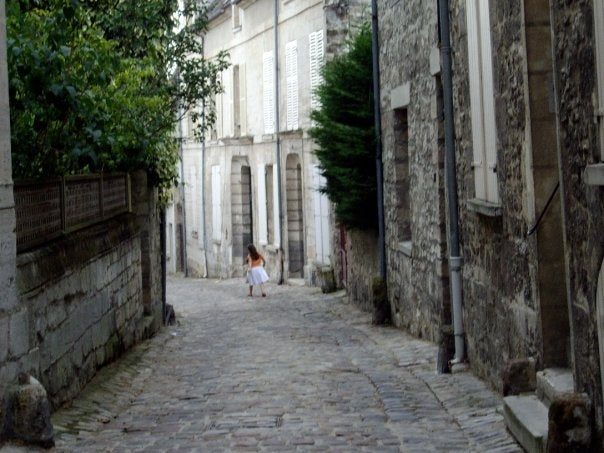 Street in Senlis