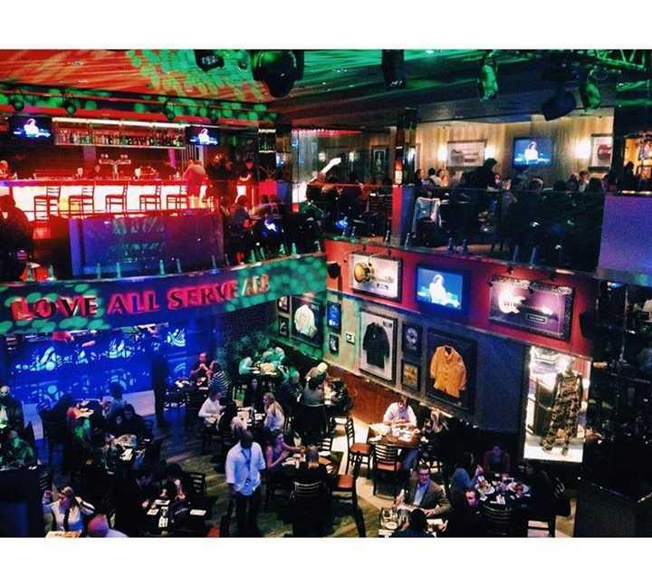 Discothèque à Hard Rock Cafe Curitiba