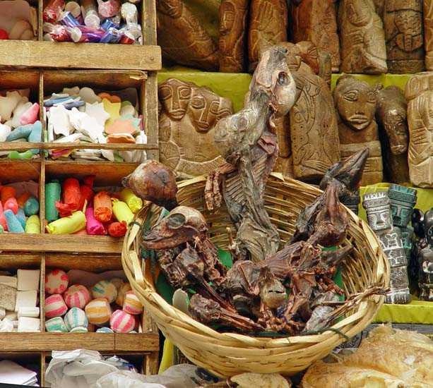 Mercato a Mercado de Hechicería (Mercato della stregoneria)