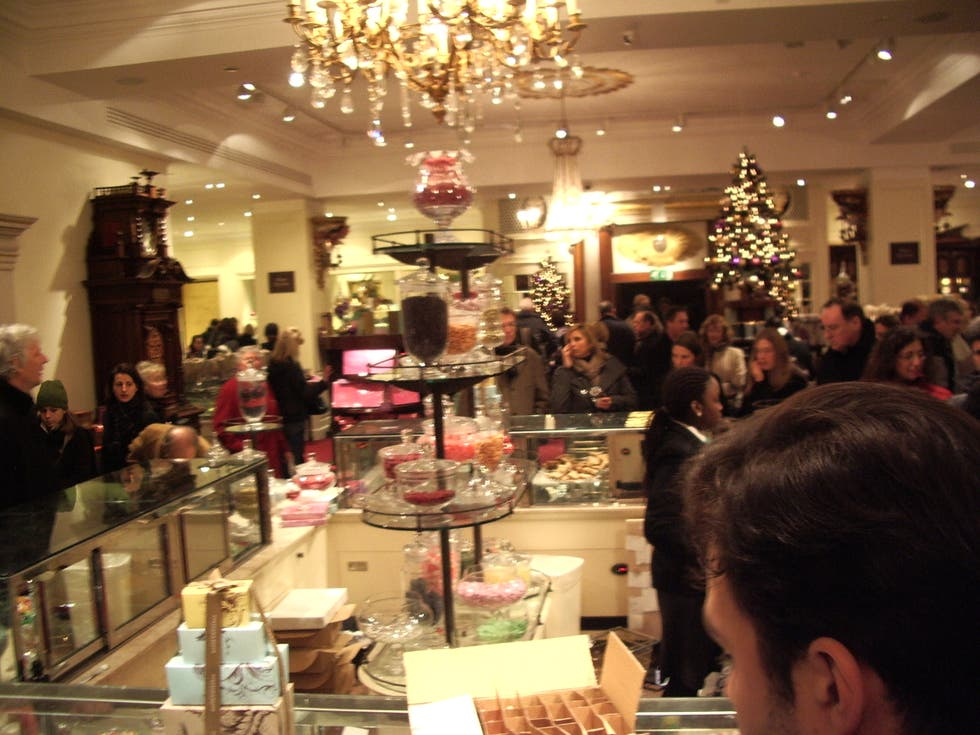 Restaurante en Fortnum and Mason