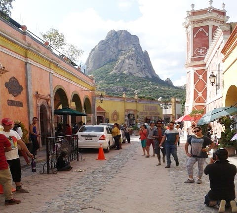 Mercado en Santiago de Querétaro