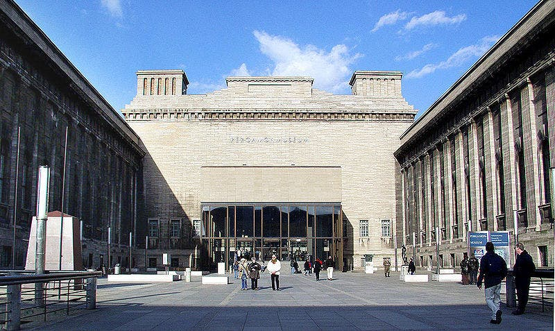 Downtown in Pergamon Museum